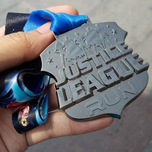 A medal worthy of heroes justiceleaguerun justiceleaguerunners justiceleaguerunsg justiceleaguerun2015 geekhellip