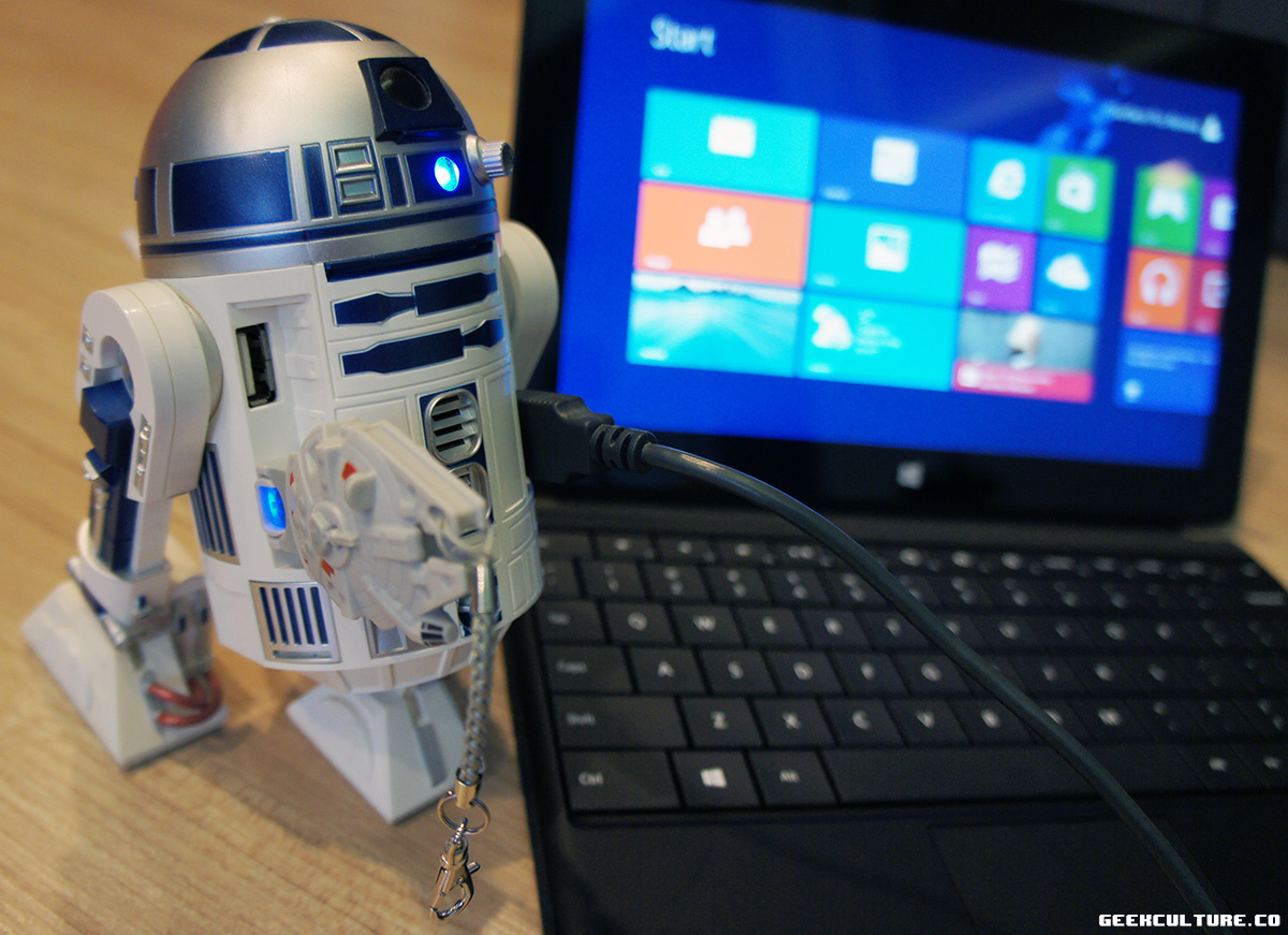 WEDNESDAY: USB Hub Fun with R2-D2