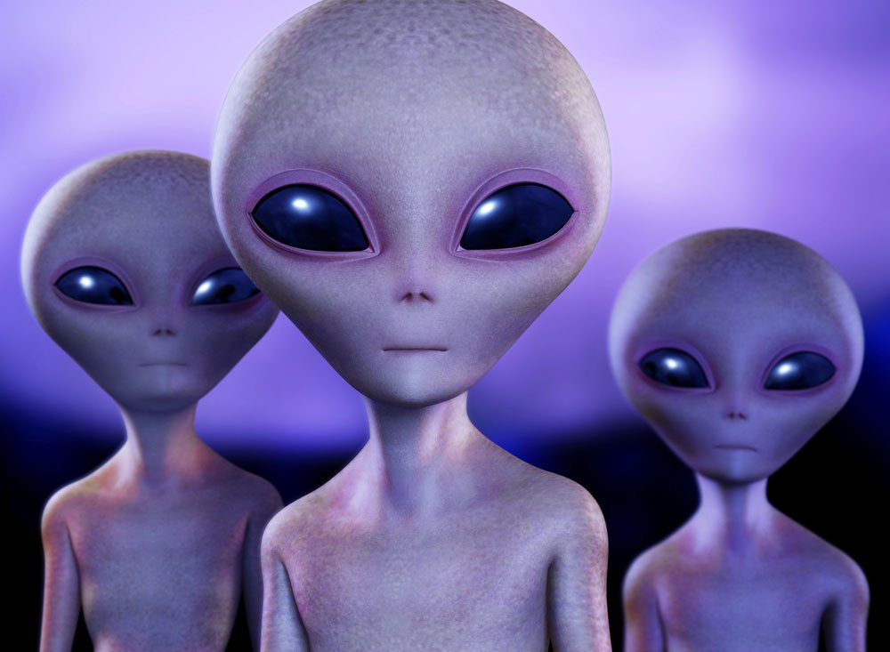 picture of aliens