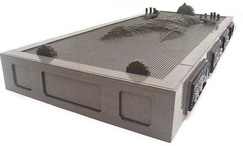 Han Solo Frozen In Carbonite Lego