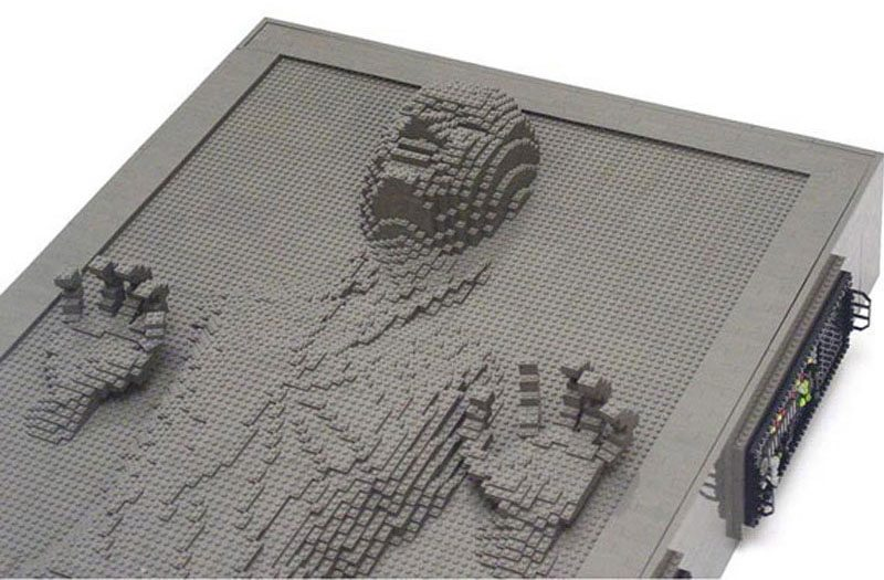 Han Solo Frozen In Carbonite Lego