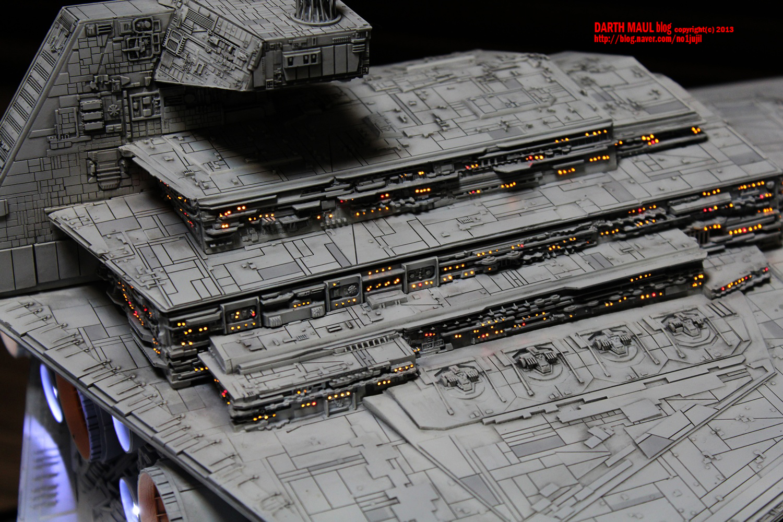 Drool Worthy Imperial Star Destroyer Model Geek Culture