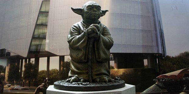 All hail Master Yoda.