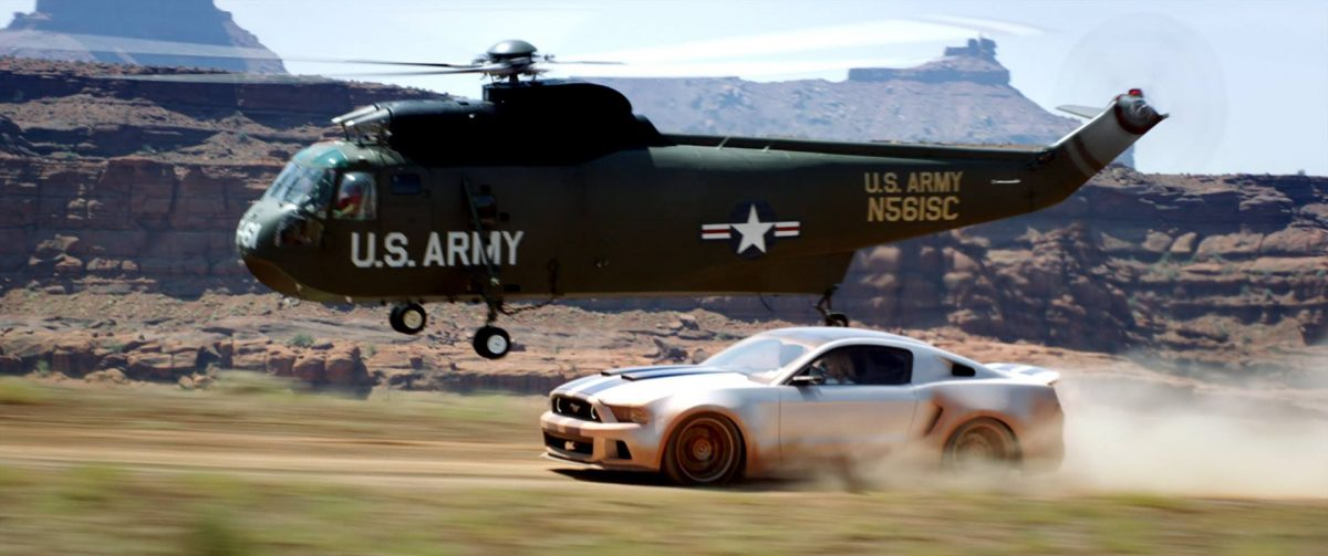 need for speed helicoper mustang