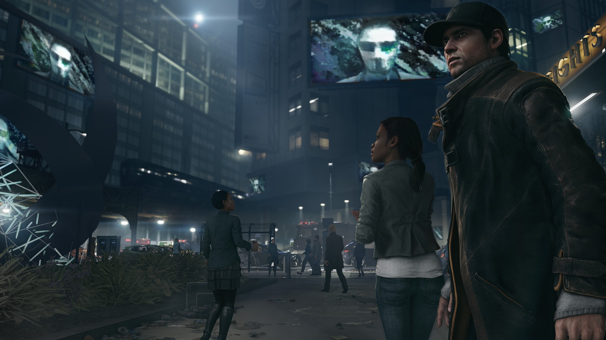 Watch Dogs  Non Lethal Takedown
