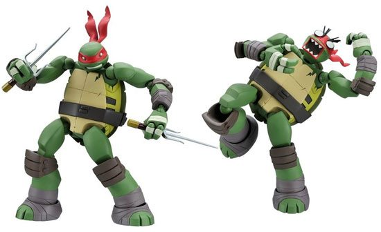 teenage mutant ninja turtles revoltech-Toys-12