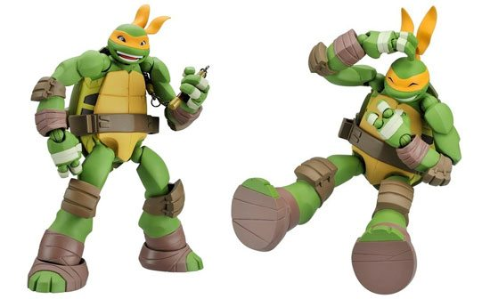 teenage mutant ninja turtles revoltech-Toys-16