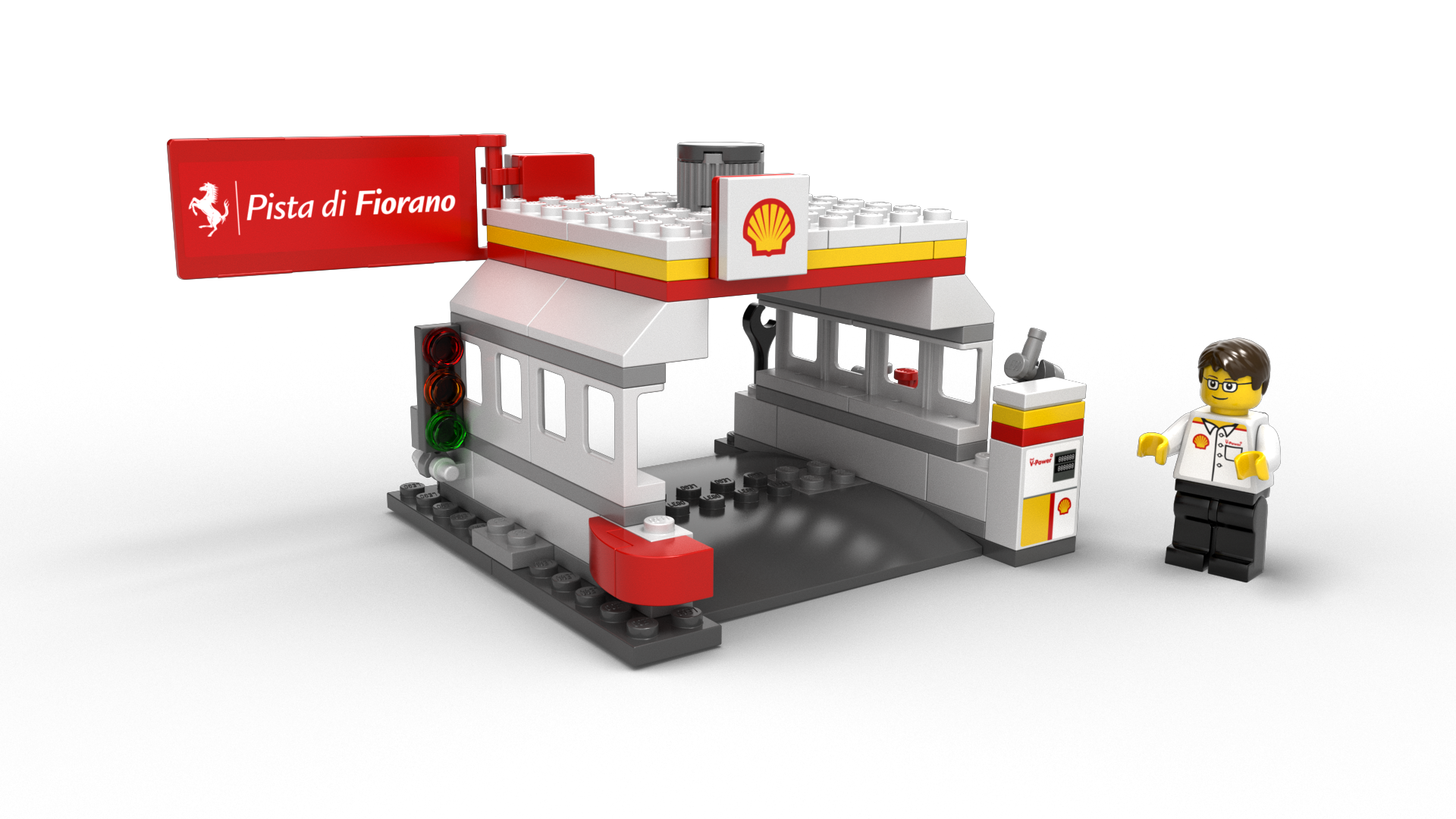 The New Shell V Power Lego Collection 2014 Geek Culture