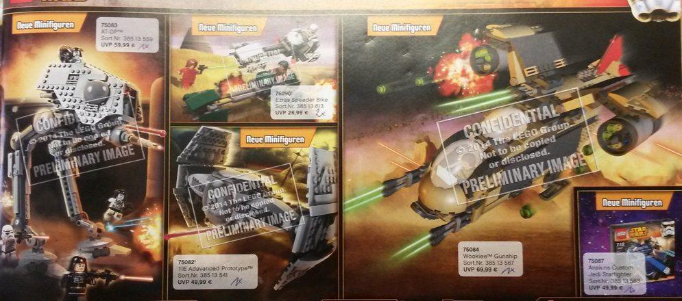 potential leaked images of lego star wars 2015 sets geek culture. Black Bedroom Furniture Sets. Home Design Ideas
