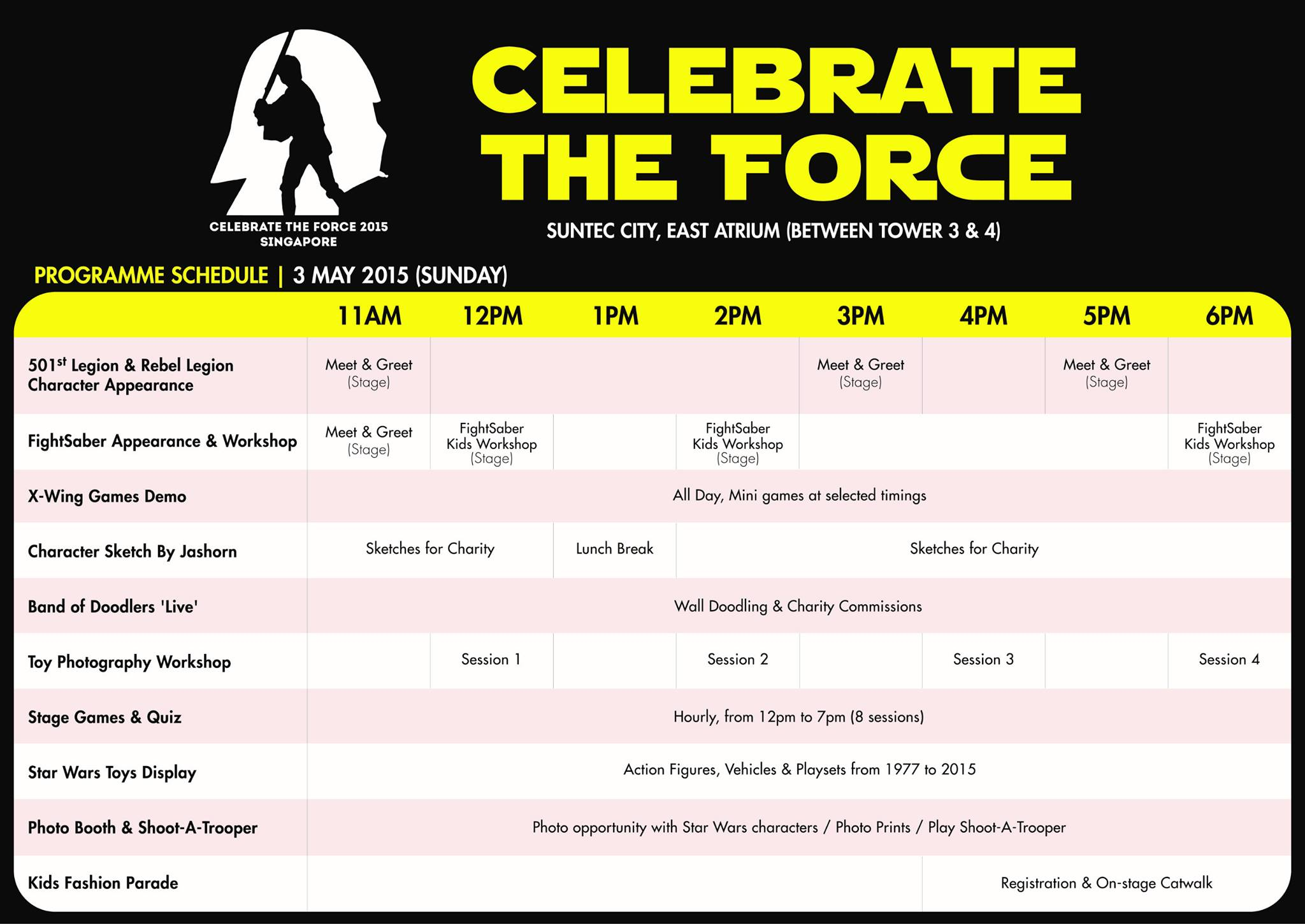 Celebrate the Force May the 4th 2015 Singapore Day 2 May 3