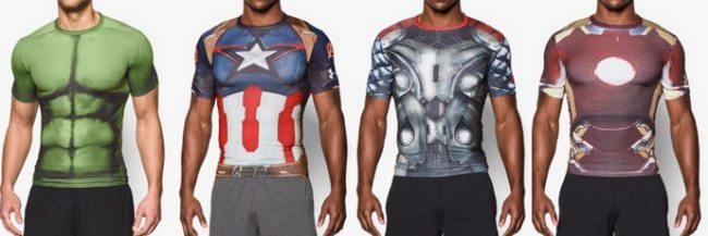 under armour age of ultron full range