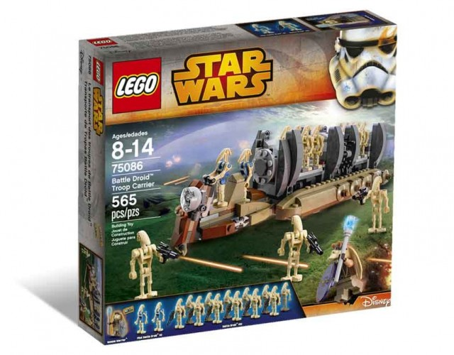 75086 Battle Droid Troop Carrier