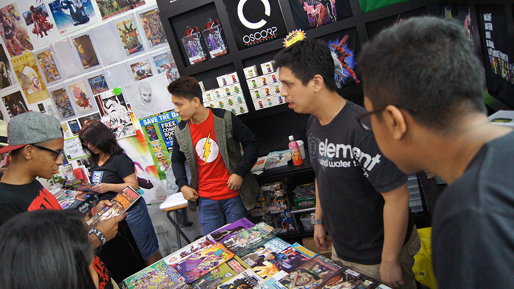 Free Comic Book Day Singapore 2015 (3) Atom Comics