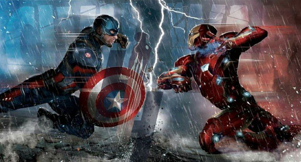 Captain America: Civil War Leaked Promo Art