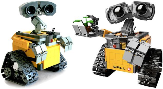 LEGO Ideas Wall E (3)