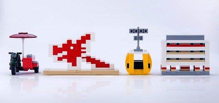 LEGO SG 50 builds