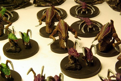 starcraft board game painted