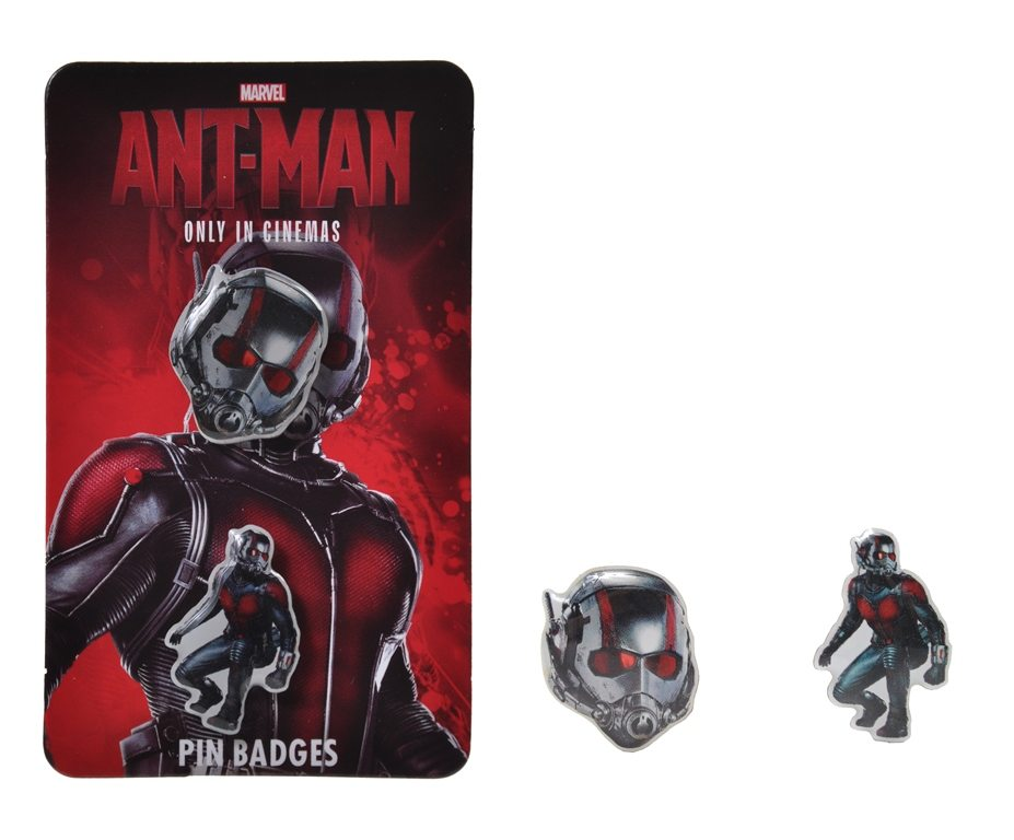 Marvel's Ant-Man Pin Badges