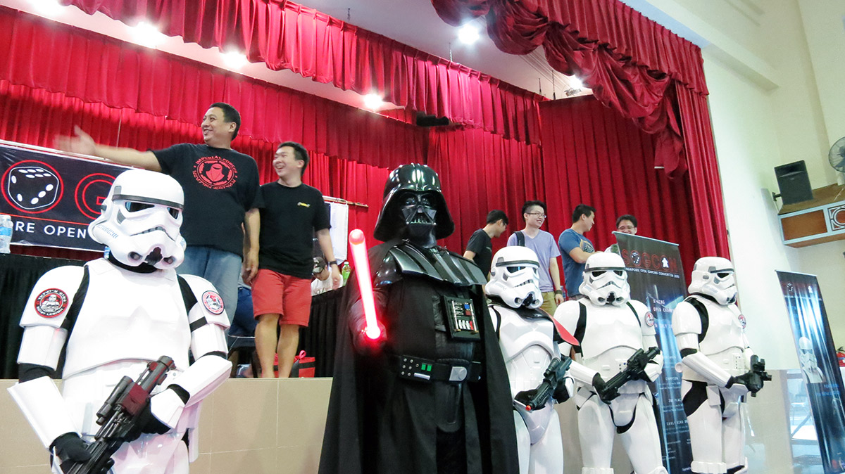 Singapore open gaming 2015 star wars vader (7)