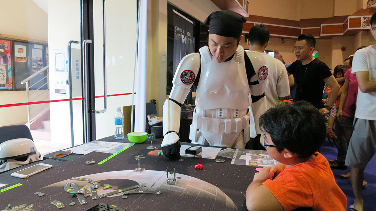 Singapore open gaming 2015 star wars x-wing demo (10)