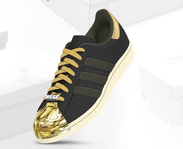 Padawans, Build Your Own Adidas Star Wars Sneakers | Geek