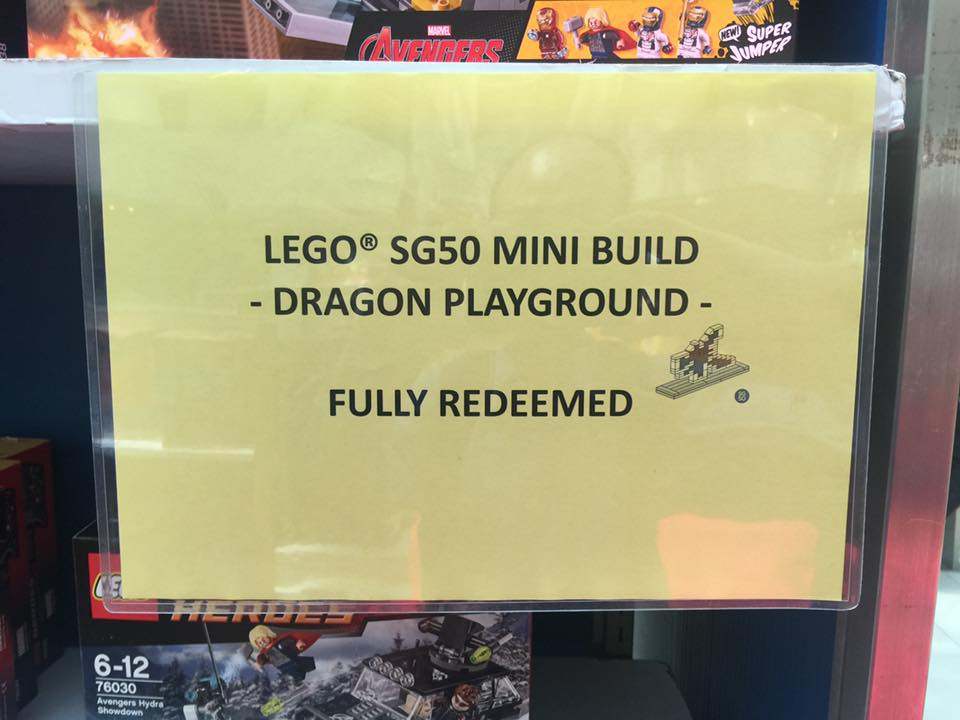 lego sg 50 dragon playground sold out