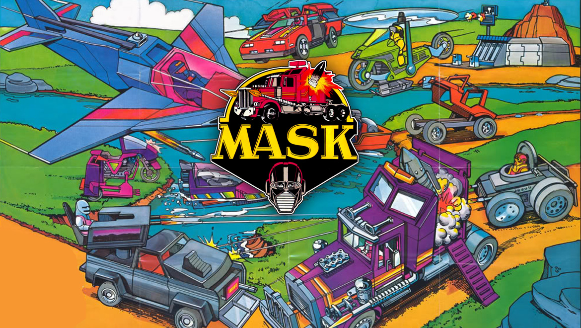 Remember The 80s MASK Cartoon And Toy Series
