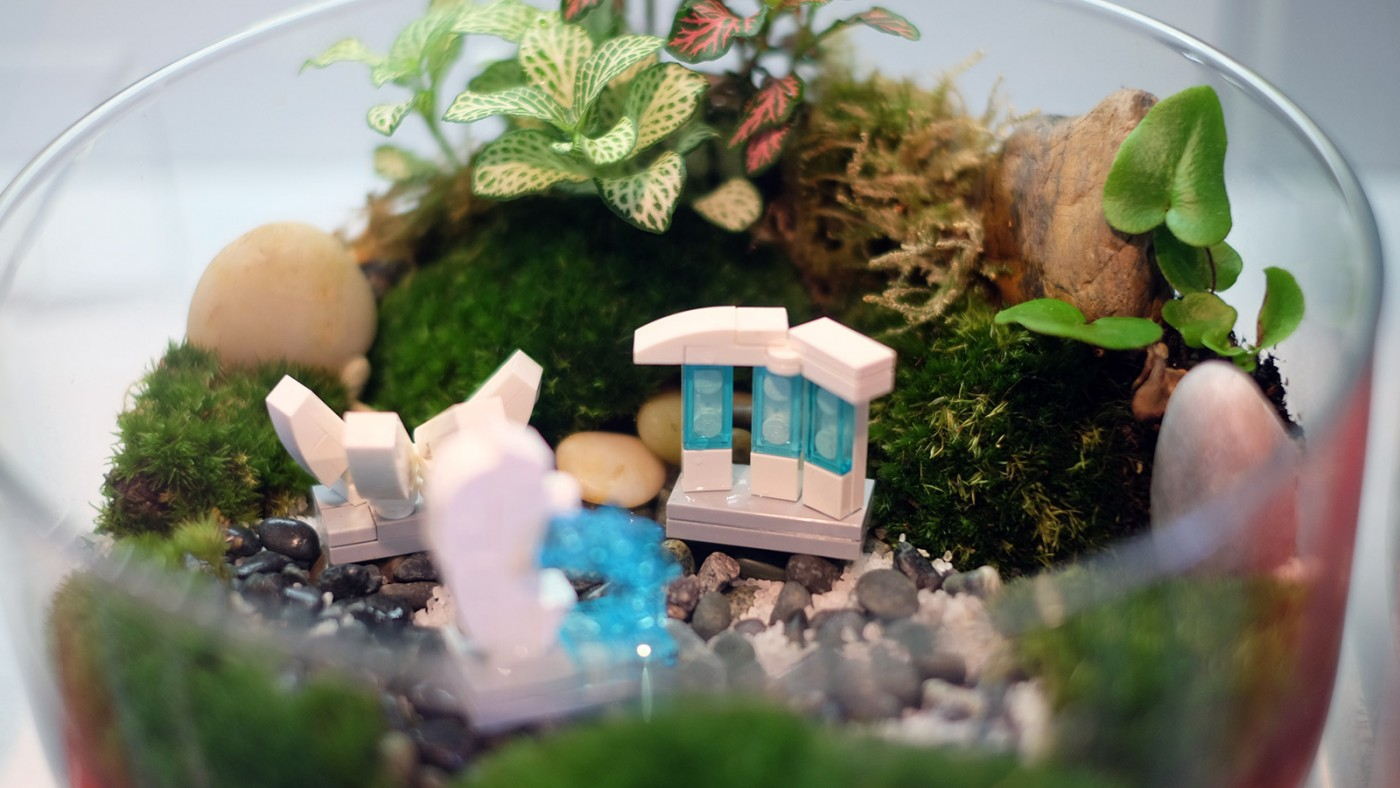LEGO-Showcase--SG50-Edition--Little-Red-Brick-LUG-Show-marina-bay-sand-terratarium