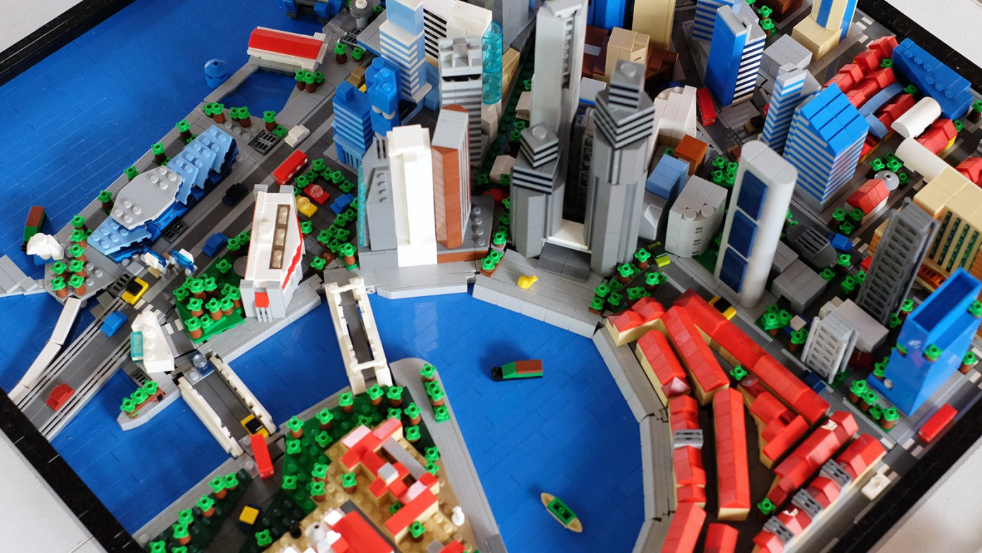 LEGO-Showcase--SG50-Edition--Little-Red-Brick-LUG-Show-shenton-way-business-district