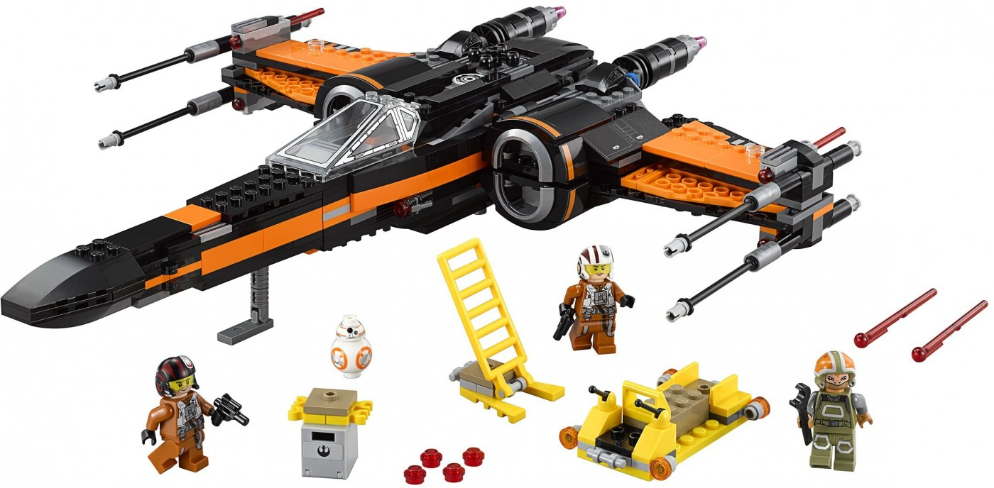75102 Poe's X-Wing Fighter officially revealed