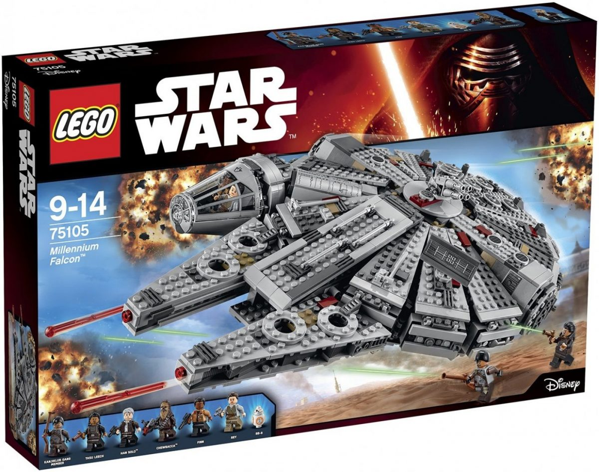 Lego-Star-Wars-75105-Milenium-Falcon