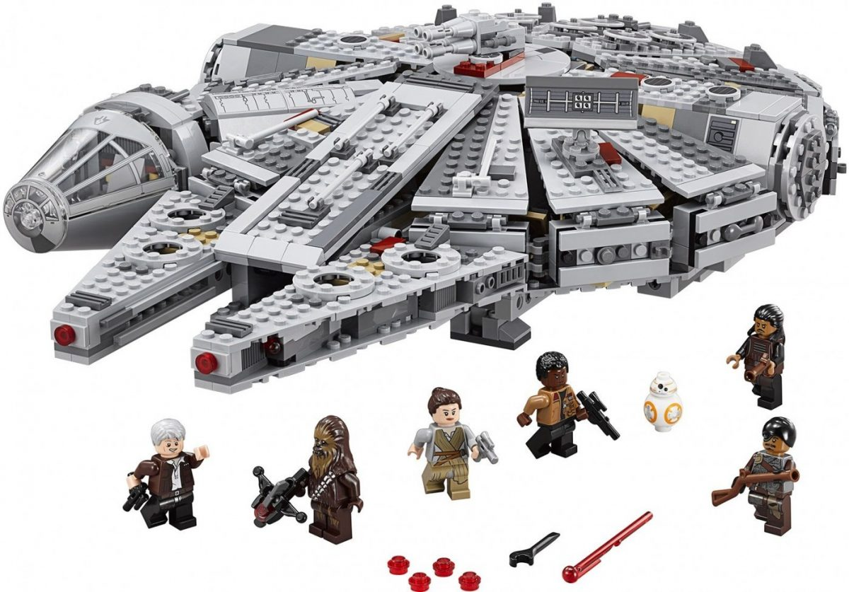Lego-Star-Wars-75105-Milenium-Falcon-Minifigures