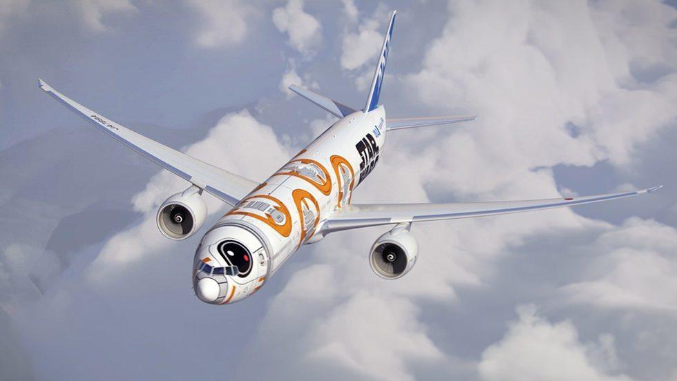 ANA BB-8 Jet
