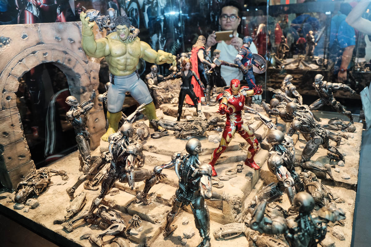 Singapore Toy Game and Comic Convention 2015 Hot Toys (16)