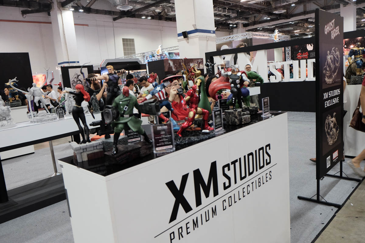 Singapore Toy Game and Comic Convention 2015 XM studios (1)