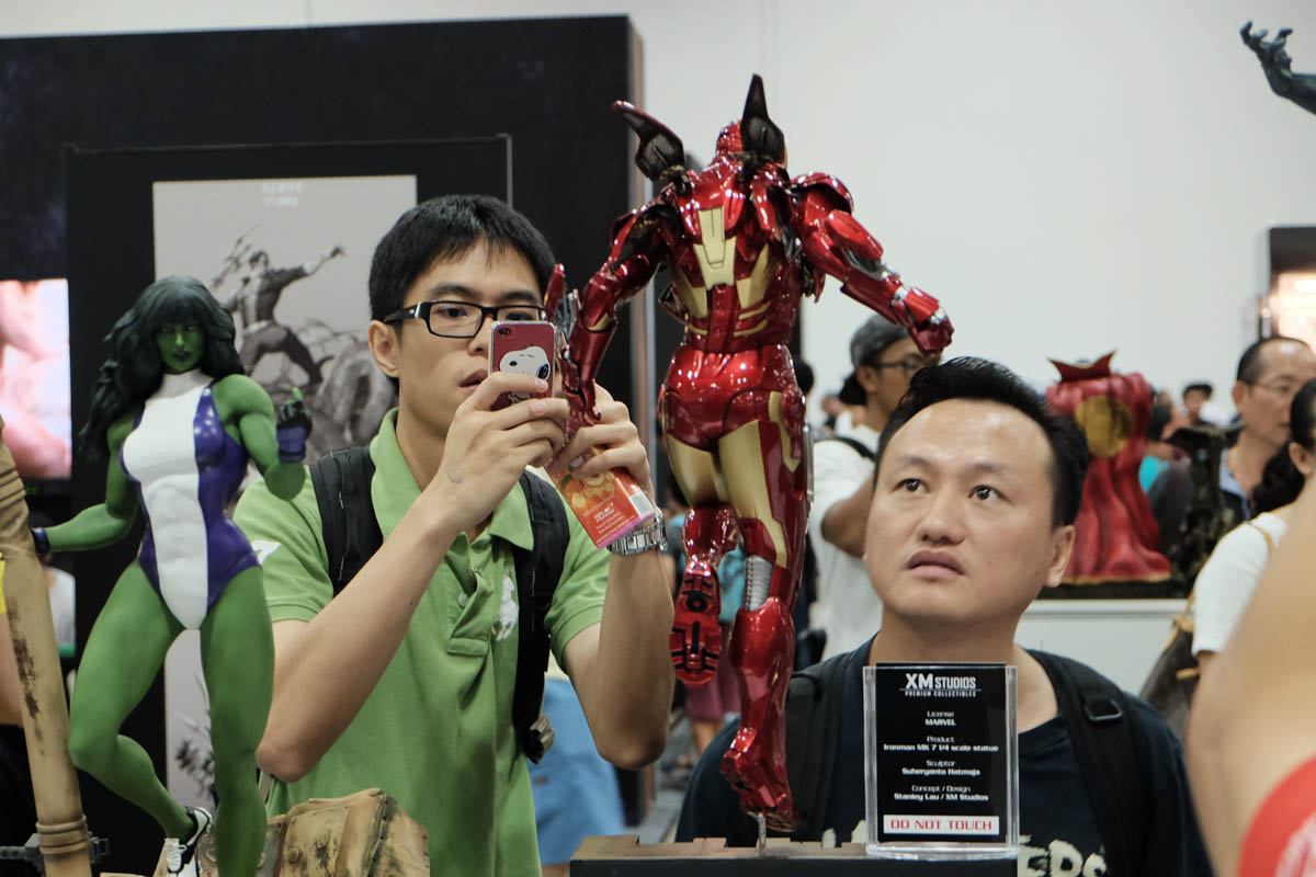 Singapore Toy Game and Comic Convention 2015 XM studios (6)