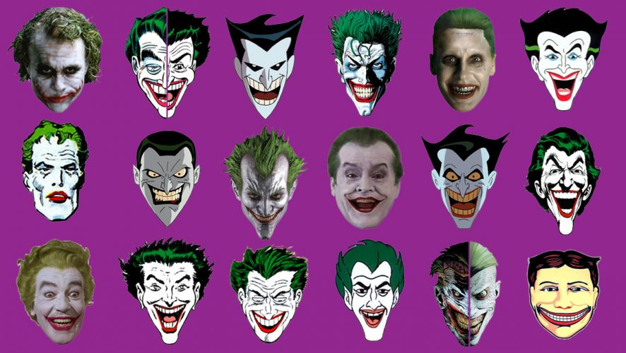 The Evolution Of The Joker Infographic Geek Culture