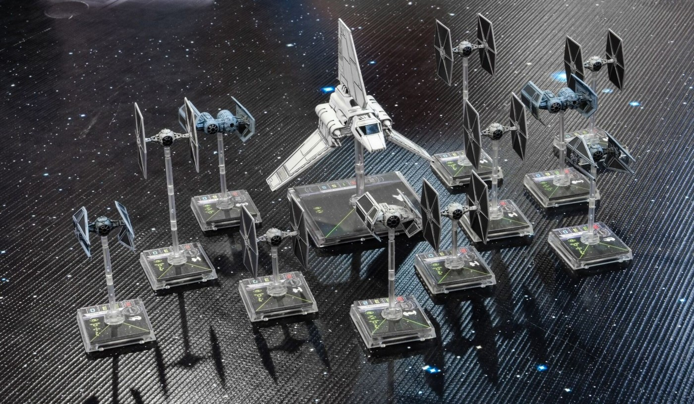 5 Reasons Why the X-Wing Miniatures Game is Awesome ... X Wing Game