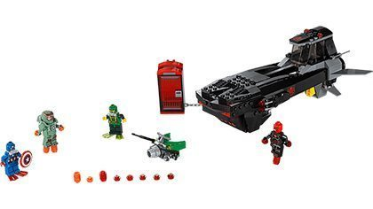 LEGO CAPTAIN AMERICA 2016 LEAKED