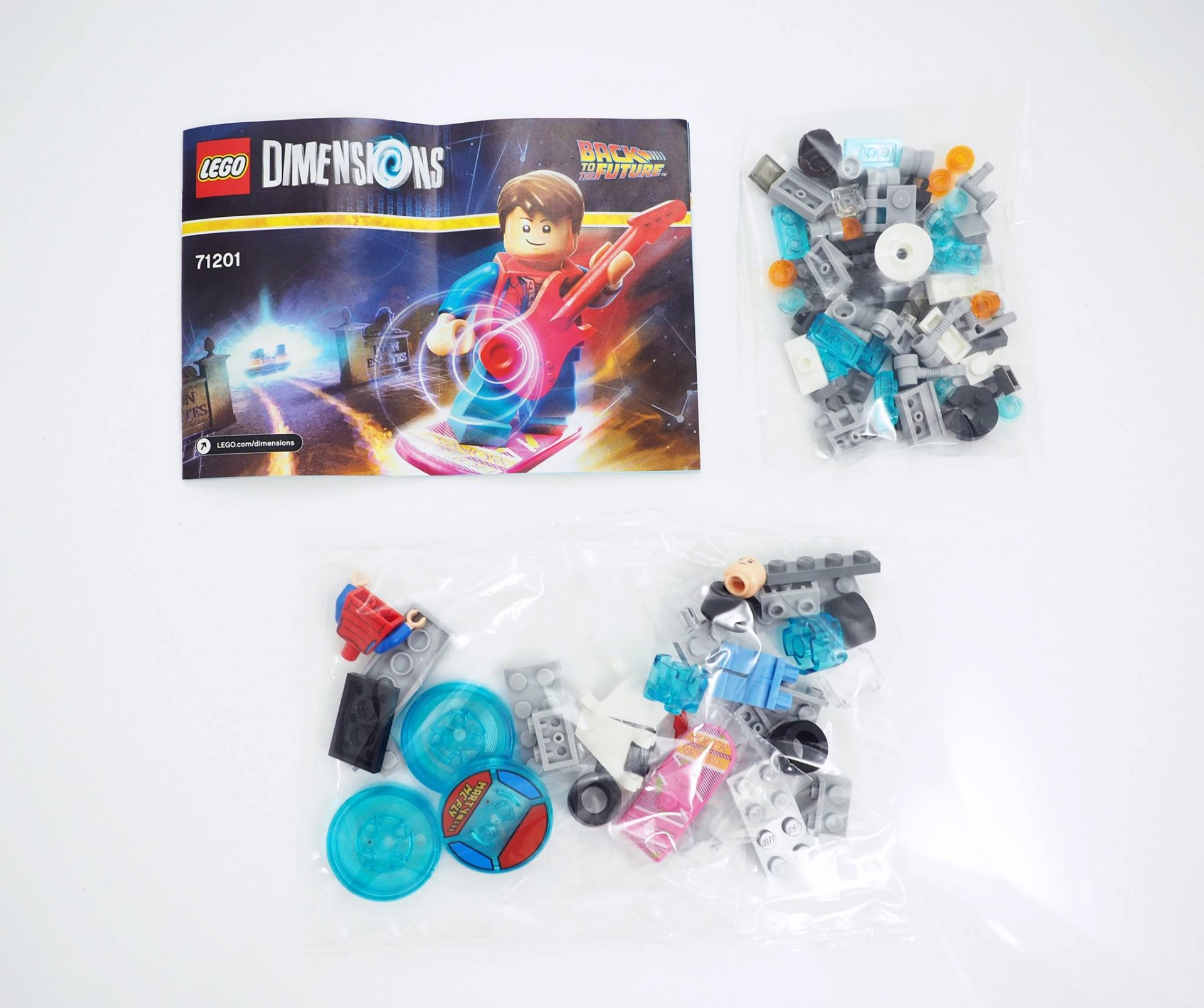 Review LEGO Dimensions Back To The Future Level Pack 71201 (47)