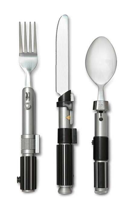 lightsaber_flatware_set