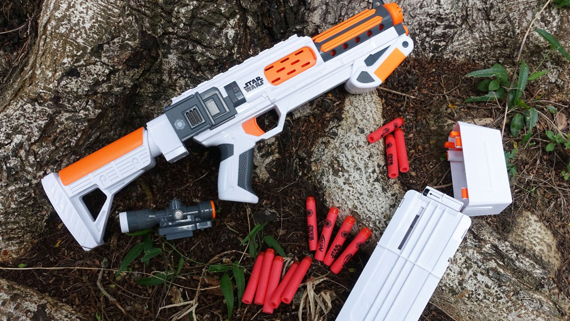 First Nerf Gun customization