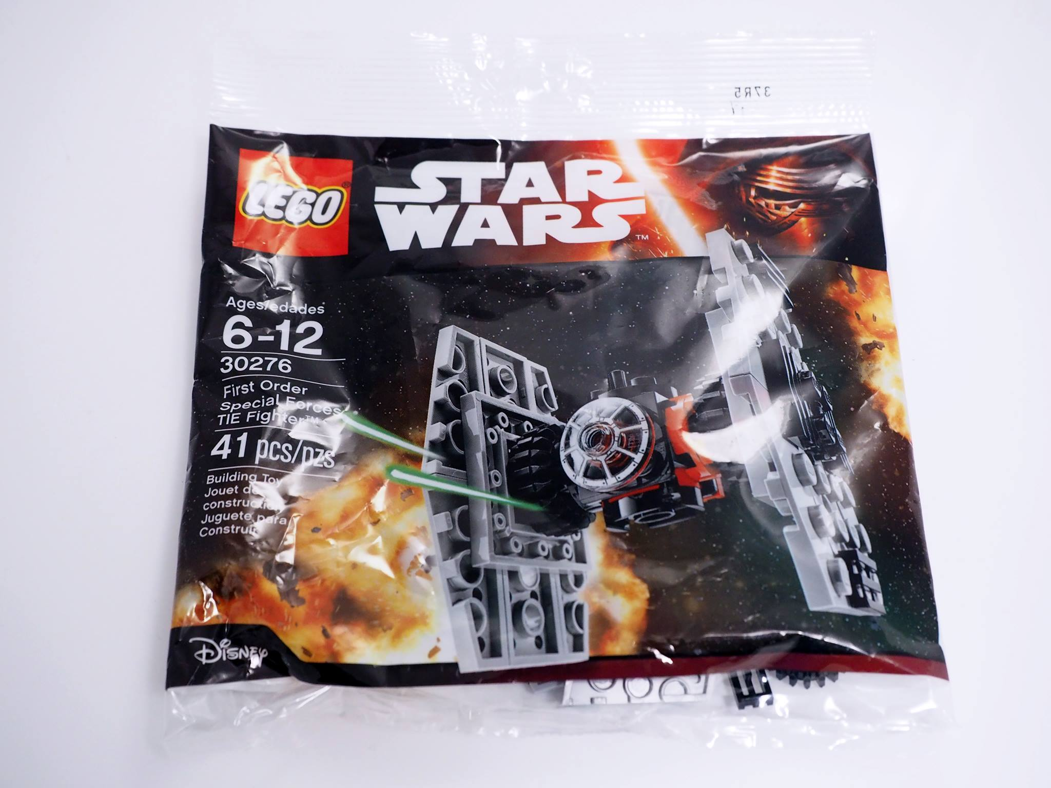 30276 LEGO First Order Special Forces Tie-Fighter Polybag outer bag