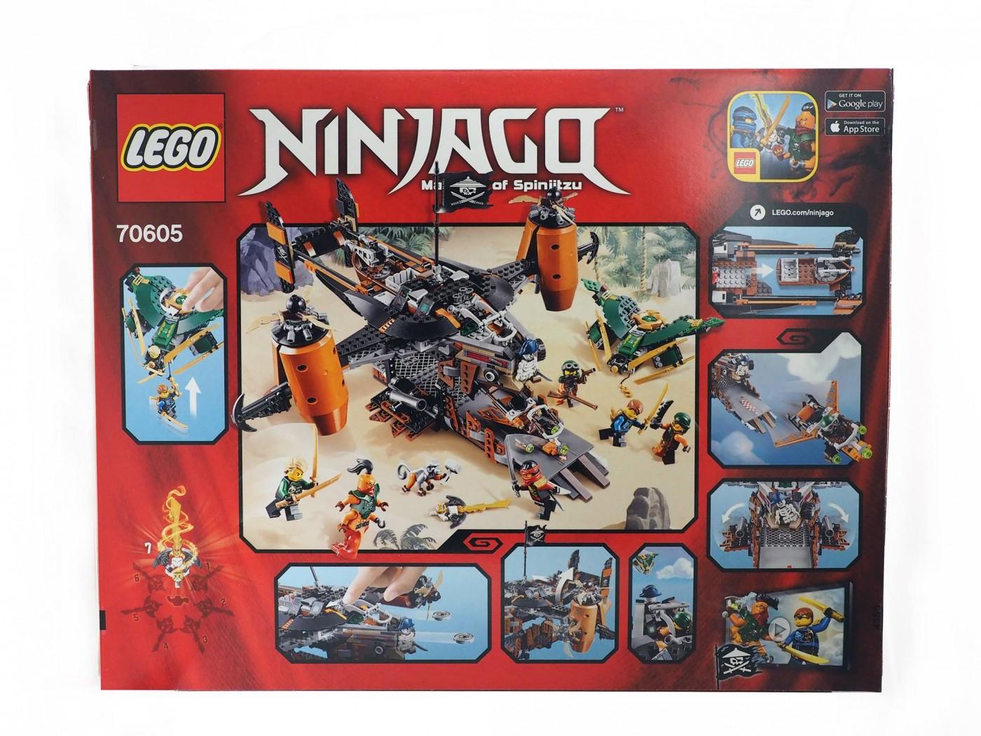 lego ninjago misfortunes keep 70605 review 2 - Lego Ninja Go