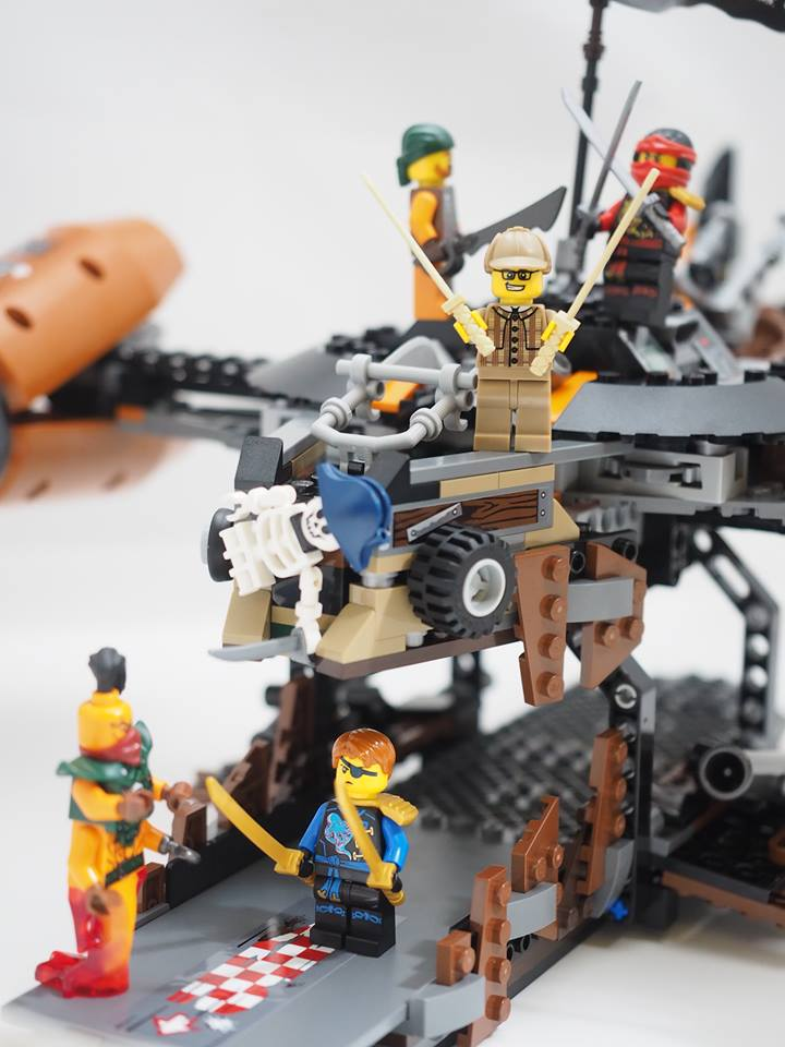 LEGO Ninjago Misfortune's Keep 70605 Review 30