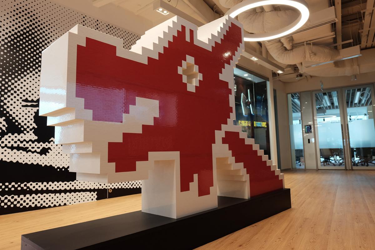 lego corporate office. LEGO SINGAPORE OFFICE TOUR (75) Lego Corporate Office