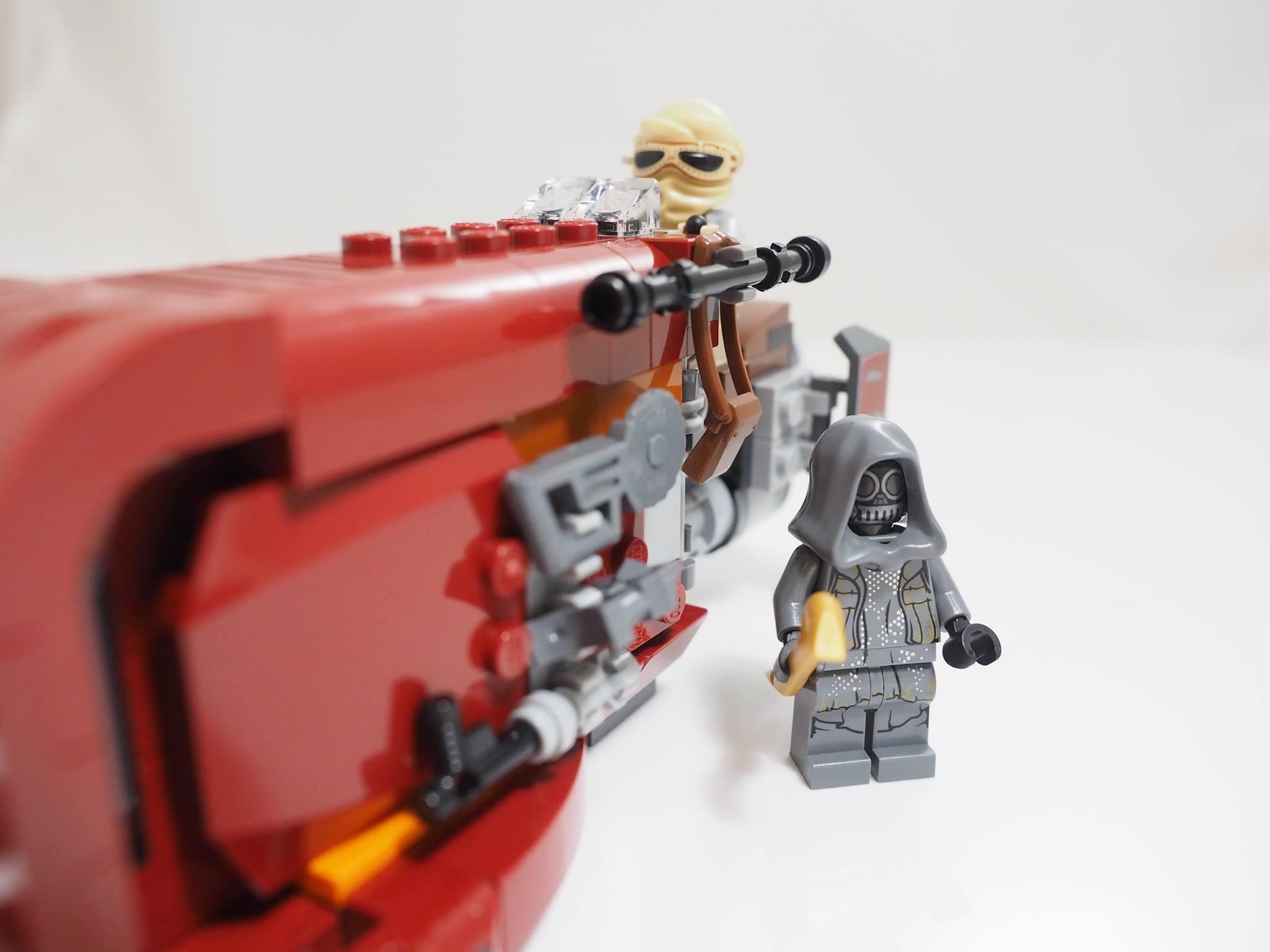 Geek Review Lego Star Wars Reys Speeder 75099 Geek Culture