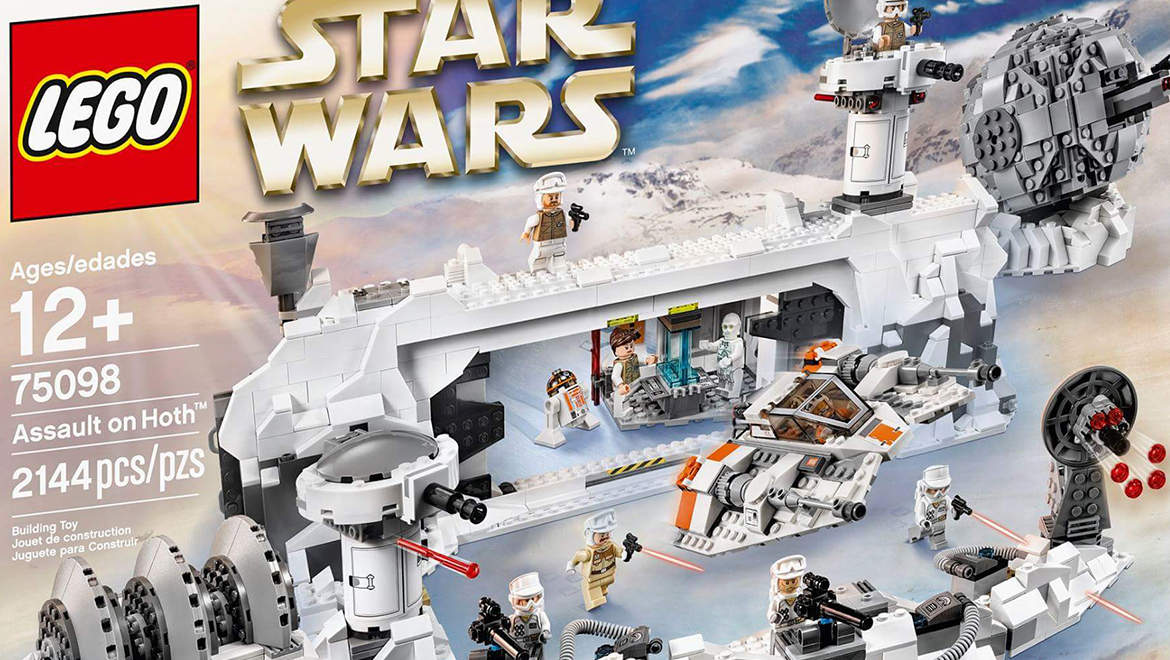 Lego star wars 75098 assault on hoth revealed geek culture
