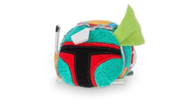 Disney tsum tsum star wars plushies featured boba fett