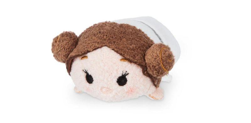 Disney tsum tsum star wars plushies featured princess leia
